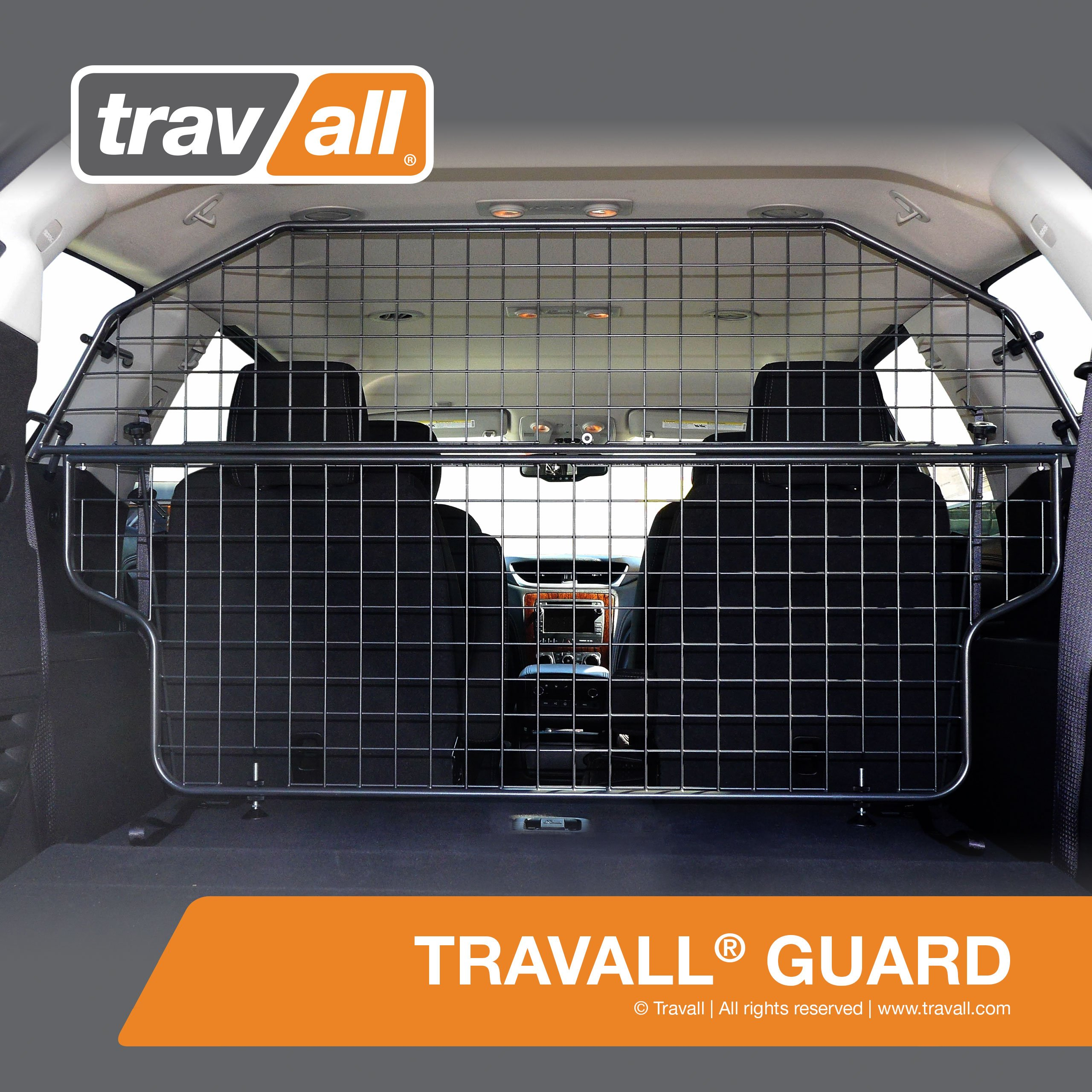 Travall Guard for CHEVROLET Traverse (2012-Current) TDG1437 - Removable Steel Pet Barrier