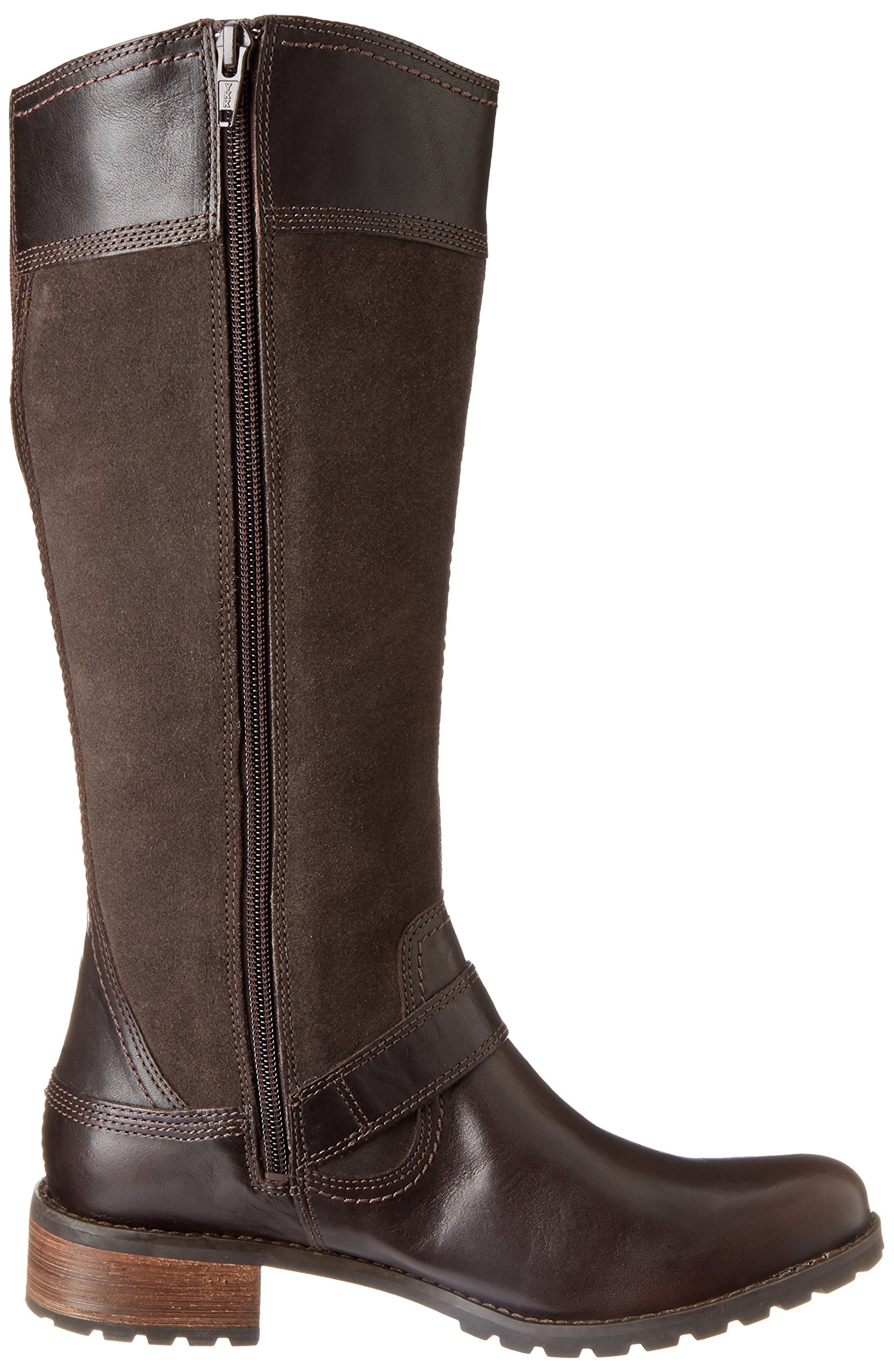 Timberland Women's EK Bethel Tall Harness Boot,Brown,6 W US by Timberland (Image #7)