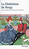 La chatelaine de Vergy (Folio (Gallimard))