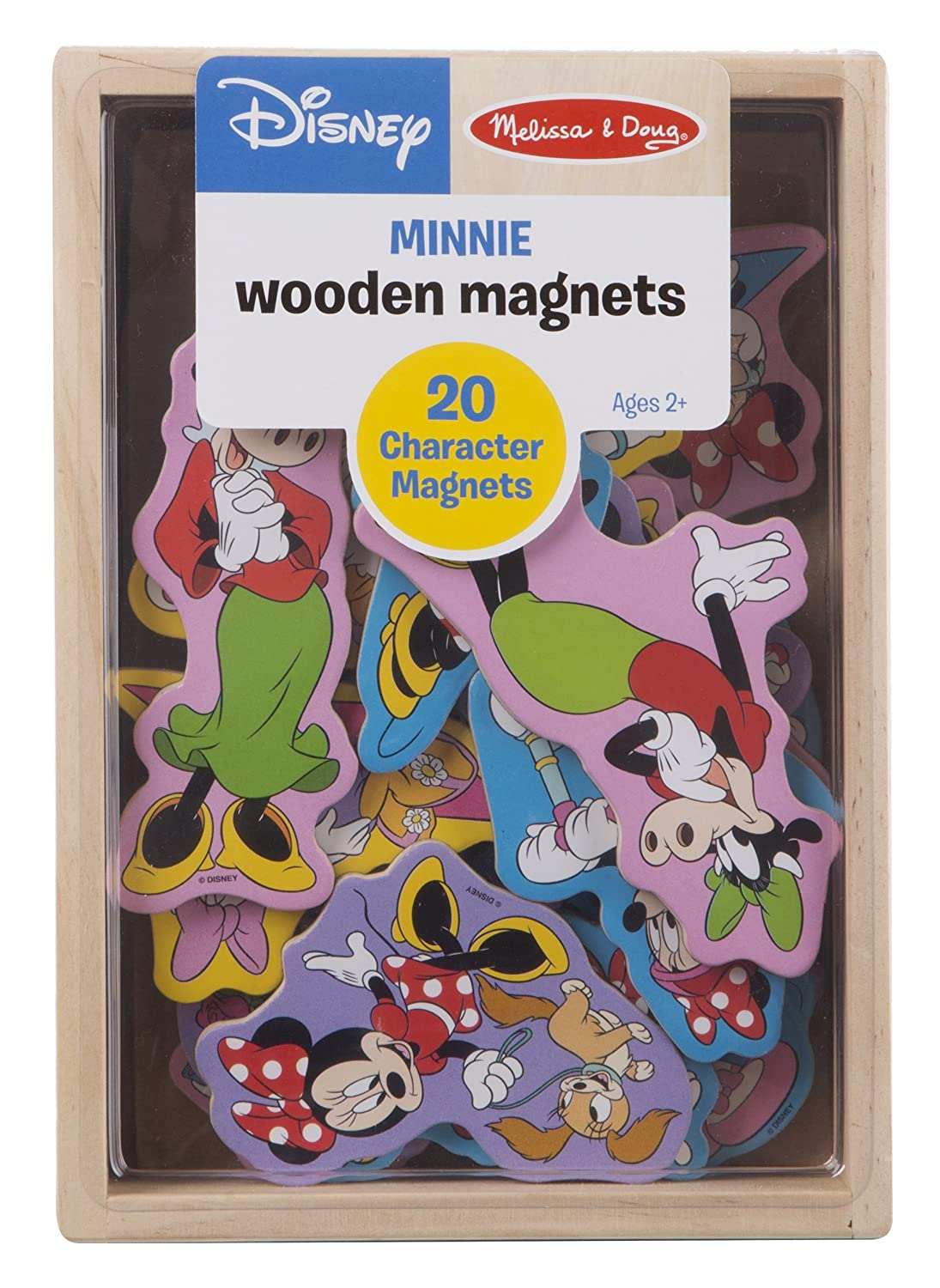 Melissa & Doug Disney Minnie Mouse Wooden Character Magnets (20 pcs)