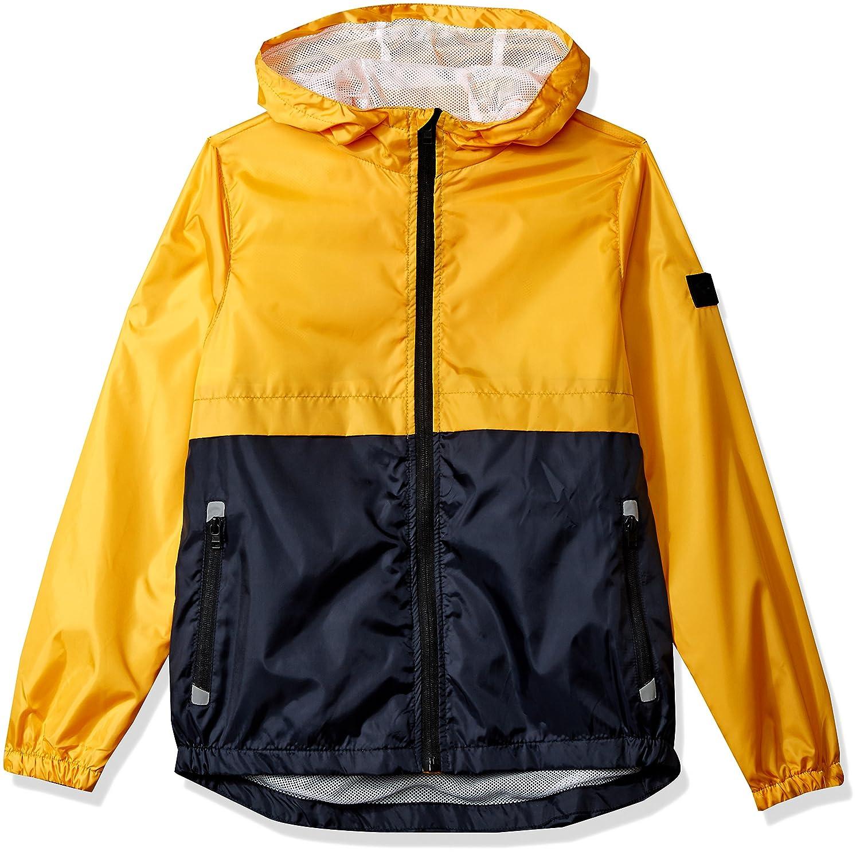 0a76796897 Southpole Big Boys  Colorblock Water Resistance Windbreaker Hooded Jacket