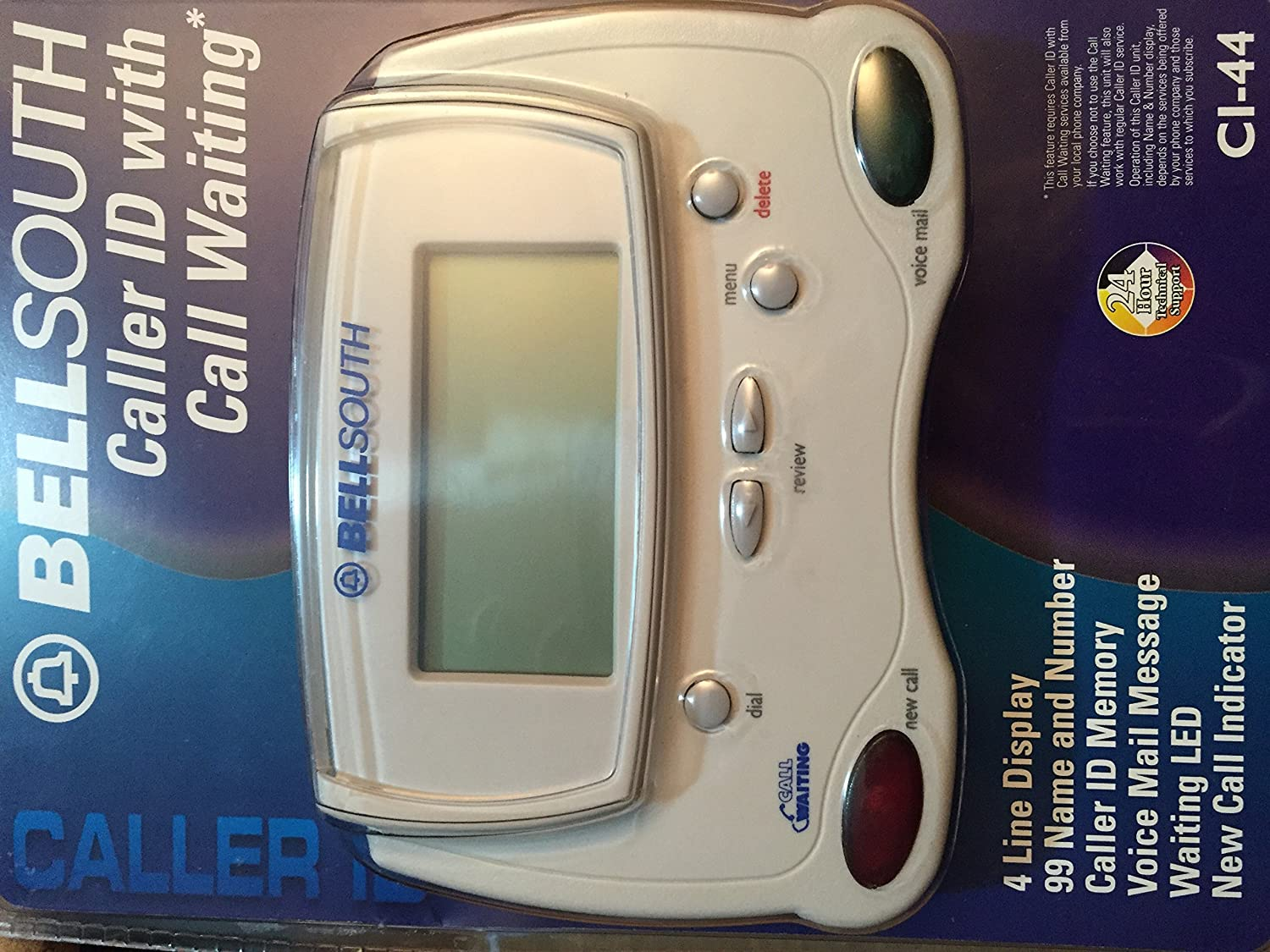 Bellsouth Caller ID with Call Waiting CI-44: Electronics