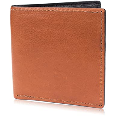 Brown Genuine Leather Hipster Wallet Handmade