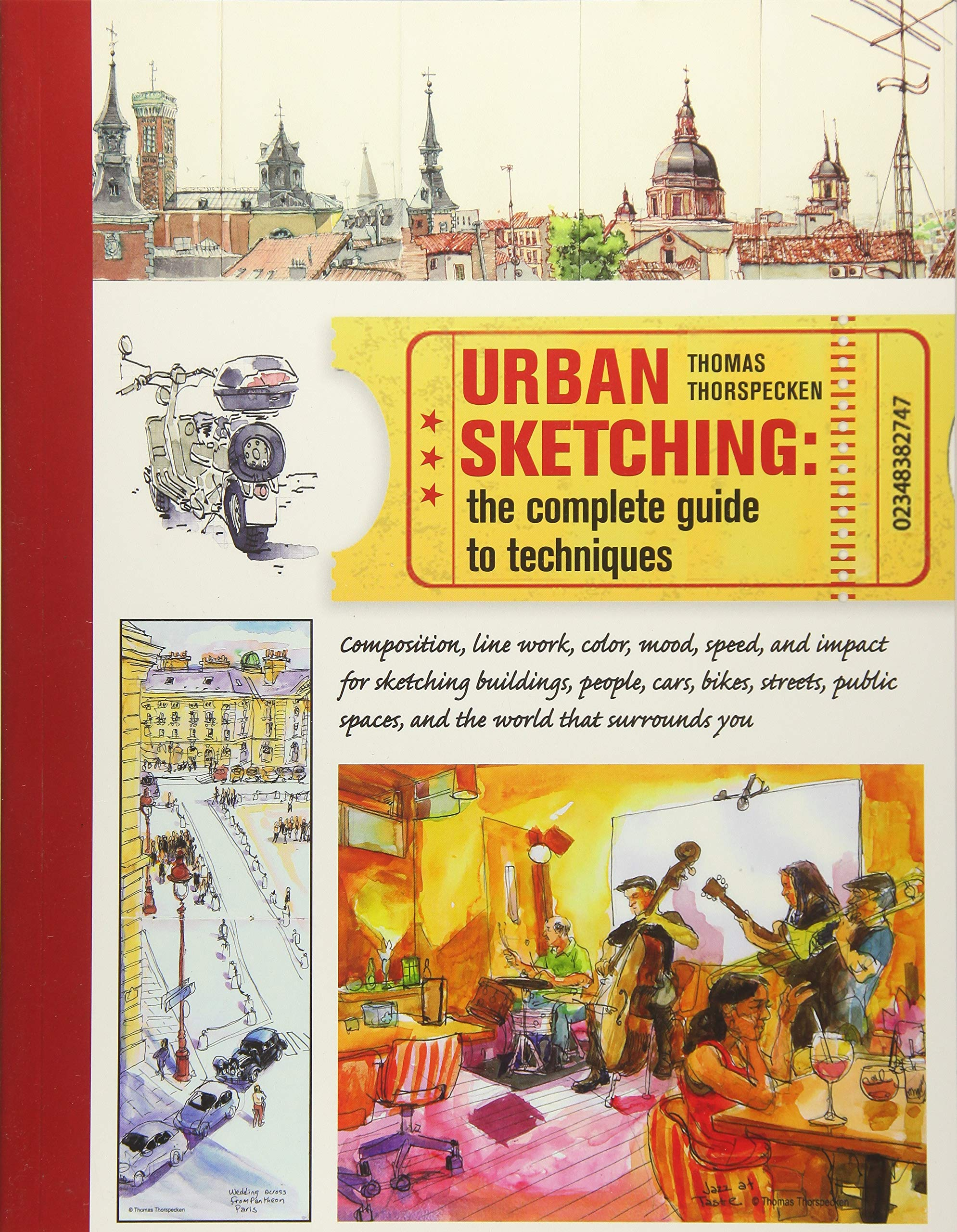08048475c0f Urban Sketching  The Complete Guide to Techniques - Livros na Amazon  Brasil- 8601400459720