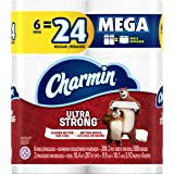 Charmin Ultra Strong Toilet Paper, 6 Mega Rolls