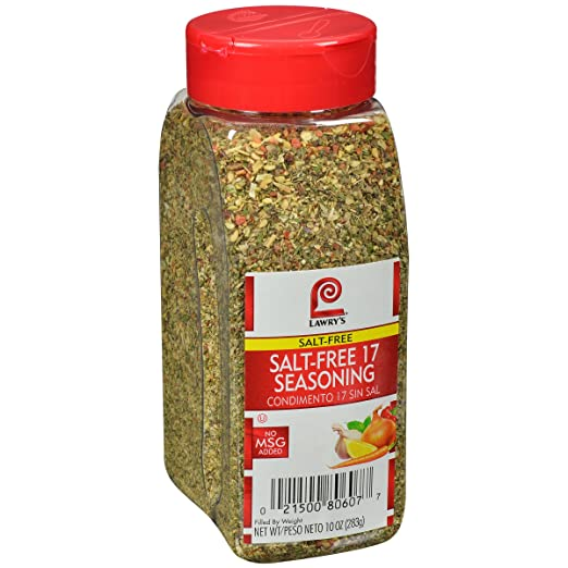 Lawry's Salt Free 17 Seasoning, 10 Ounce