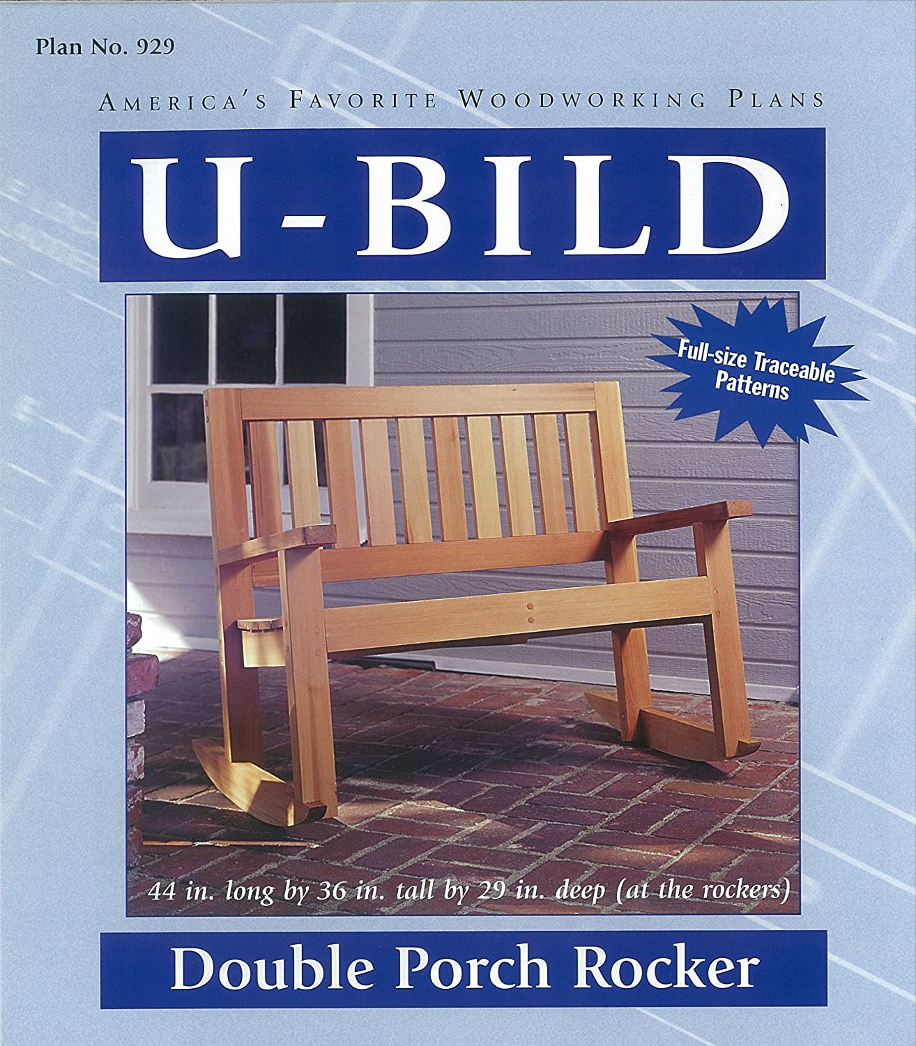 Pleasing U Bild 929 Double Porch Rocker Project Plan Caraccident5 Cool Chair Designs And Ideas Caraccident5Info