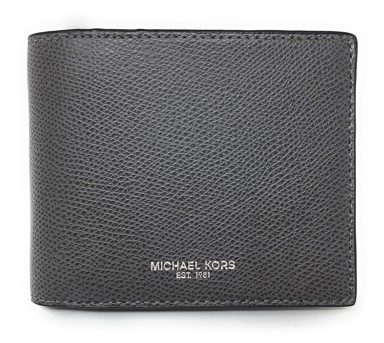 f1bc95b60d2e Amazon.com: Michael Kors Warren Men's Leather Billfold with Passcase Wallet  (Grey): Andres Supplies