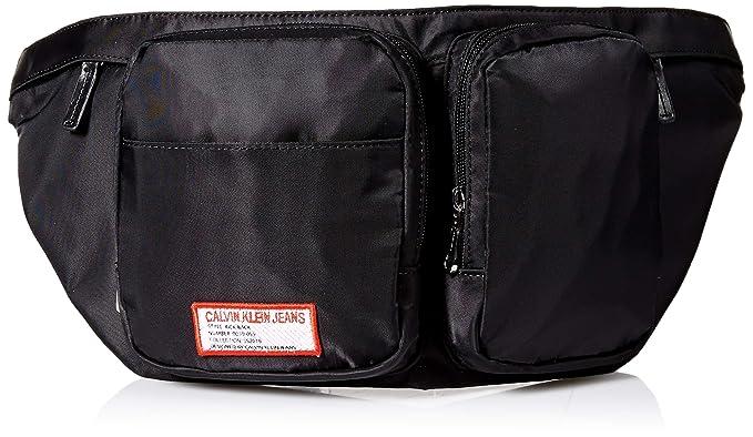 0eb4ea46ef Amazon Calvin Klein Men's Zippered Belt Bag With Logo Patch Rhamazon: Calvin  Klein Golf Cart