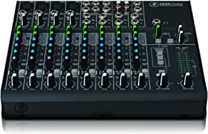 Mackie VLZ4 Series, 12-channel Mixer with Ultra-wide 60dB gain range and Onyx Mic Preamps (1202VLZ4)