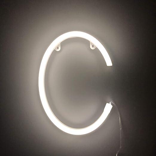 Smiling Faces Letrero luminoso de neón LED Letras blancas ...