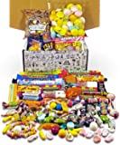 Retro Sweets Hamper: Mega Gift Box Jam Packed With Over 60 of the UK's Best Old School Sweets