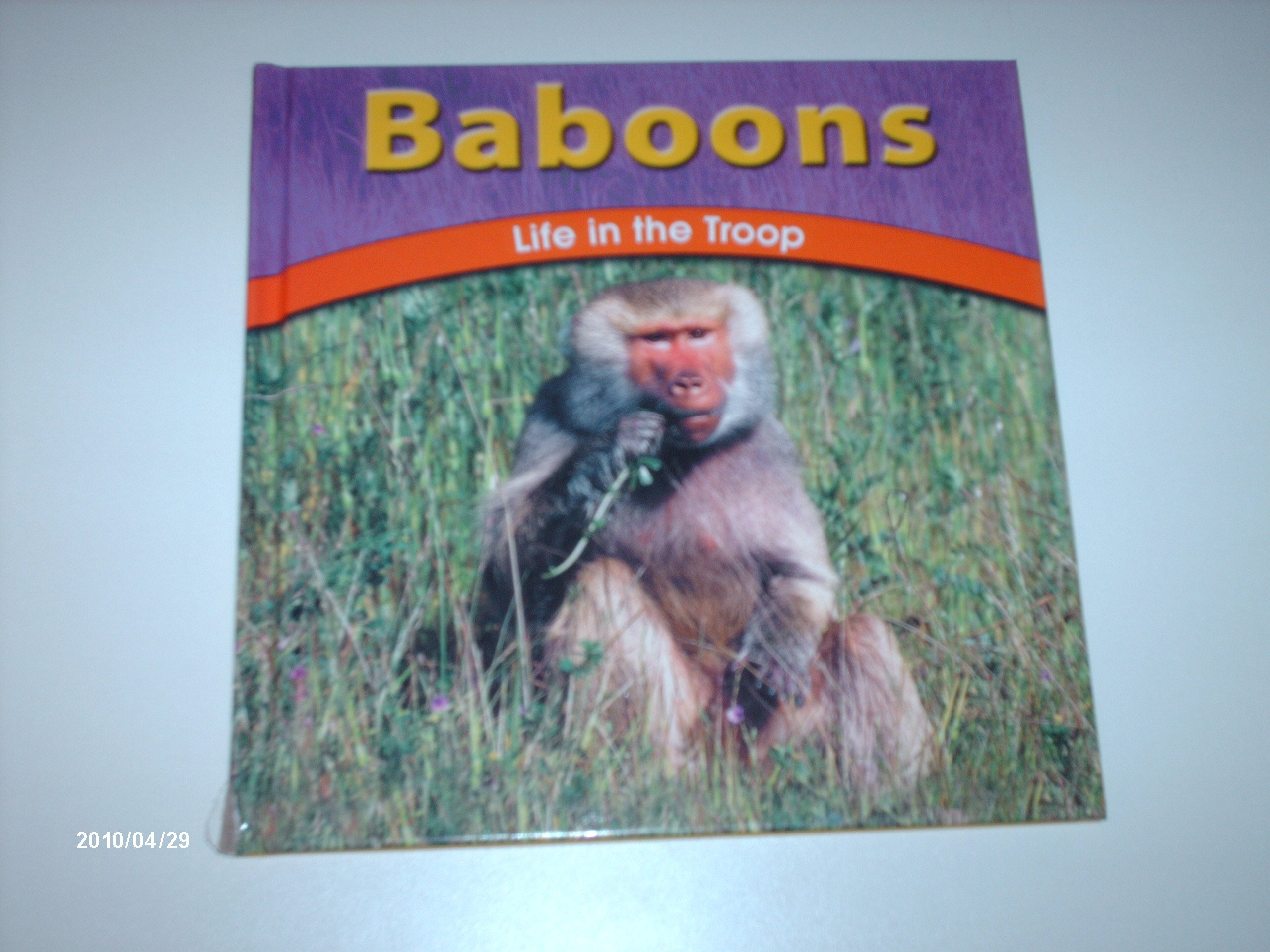 Download Baboons: Life in the Troop (The Wild World of Animals) pdf epub