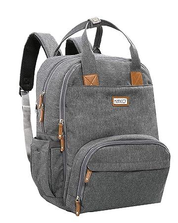 Amazon.com : MILANICO Diaper Bag with Changing