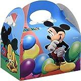 Mickey Mouse Verbetena  014001030 - Cajitas vacías con balones Clubhouse, 12 unidades