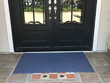 Extra Large Heavy Duty Front Door Mat Outdoor Indoor Entrance Doormat  Waterproof Low Profile Entrance Rug