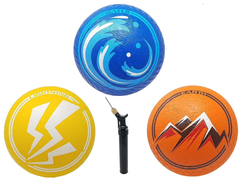 Elemental Playground Balls : Juju Athletics 8.5
