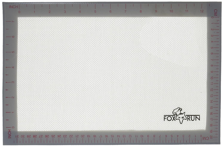 Fox Run 4731 Non-Stick Baking Mat, Silicone, 14.25-Inch x 9.5-Inch Fox Run Craftsmen