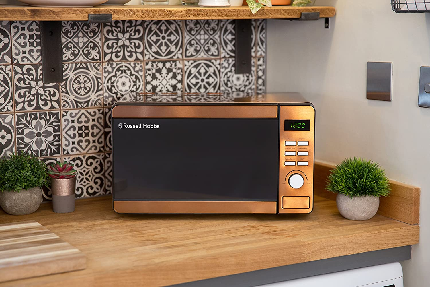 Russell Hobbs Copper Microwave