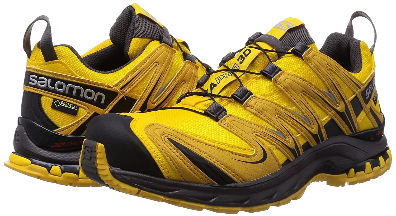 Amazon.com   Salomon XA Pro 3D Gore-TEX Trail Running Shoes - AW15-14 - Yellow   Trail Running
