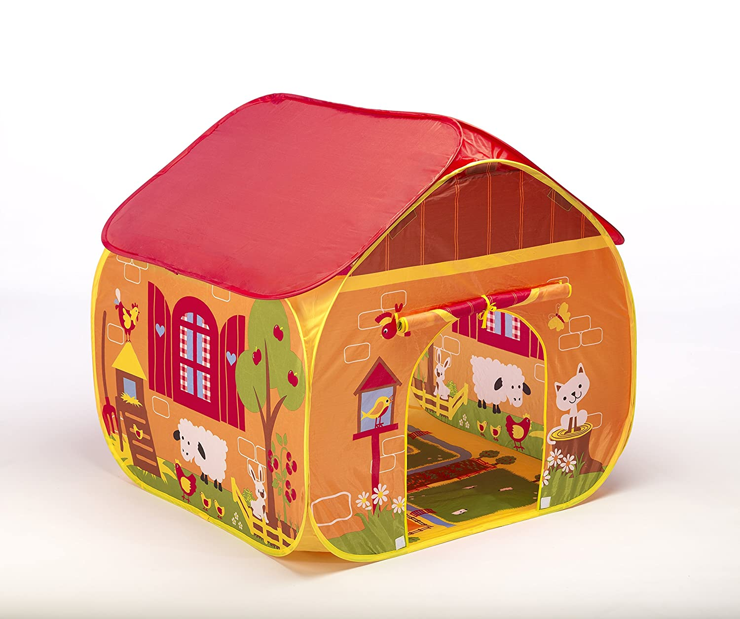 sc 1 st  Amazon.com & Amazon.com: Pop-it-up Farm Play Tent with Playmat.red: Toys u0026 Games