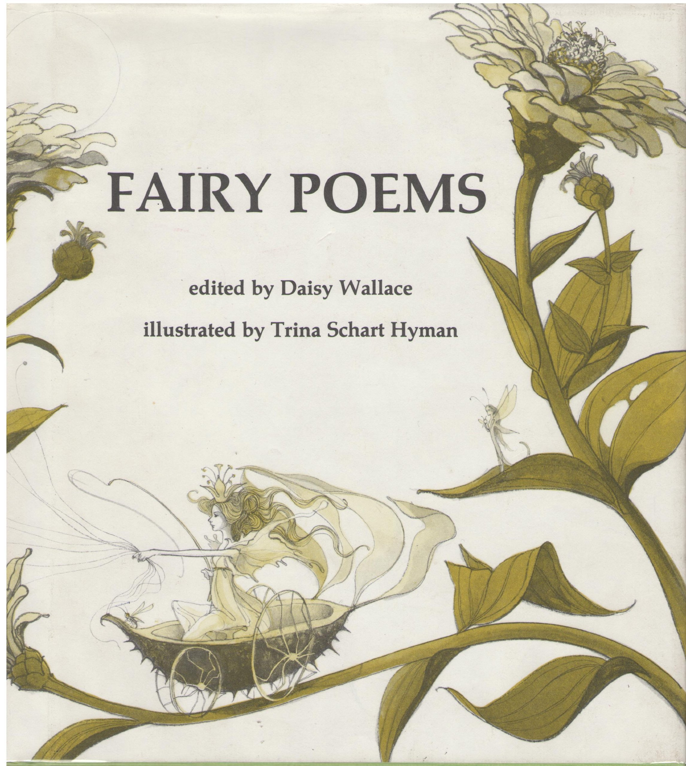 Amazon Fairy Poems 9780823403714 Daisy Wallace Trina Schart