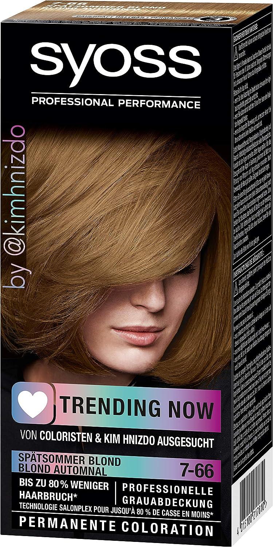 Syoss Coloration 7-66 - Tinte para el cabello rubio (115 ml ...