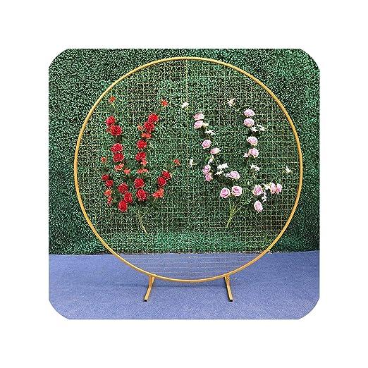 aabbc - Rejilla Redonda para Boda, diseño de círculos, Ideal ...