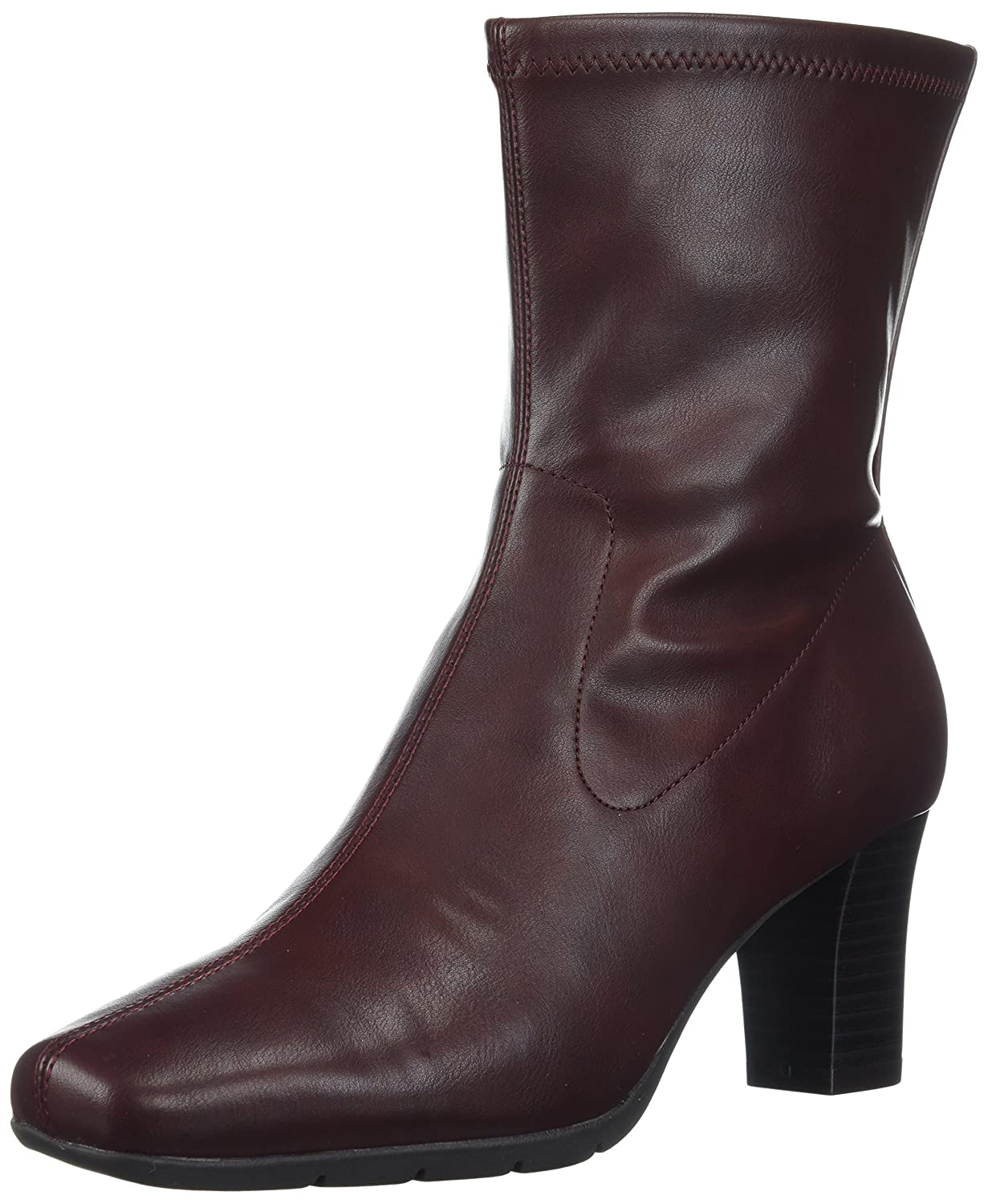 Aerosoles Women's Geneva 2 Mid Calf Boot B074H1F4K8 9.5 W US|Wine