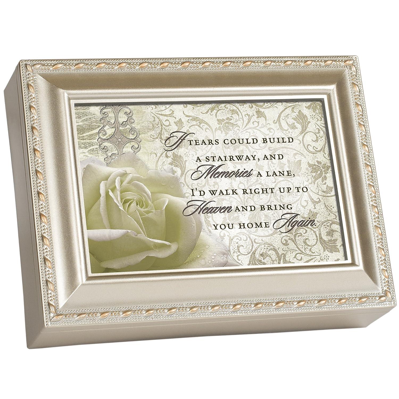 新着 Cottage Music Garden Grace Bereavement Champagne Silver Music Box/ Cottage Jewellery Box Plays Amazing Grace B00BRX2U9S, フジゴルフ:8b900f12 --- arcego.dominiotemporario.com