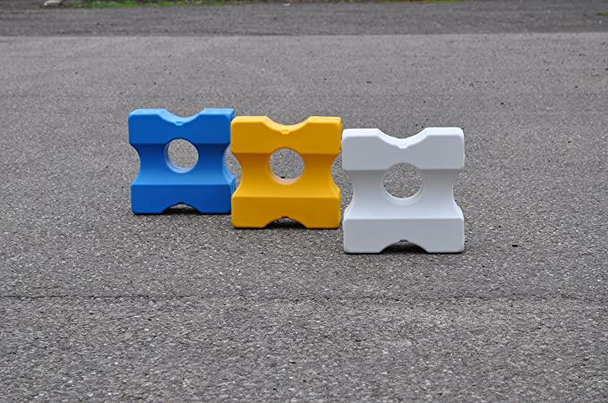 quadratisch Groovi Piercing Gitter Mini gerade Basic A6