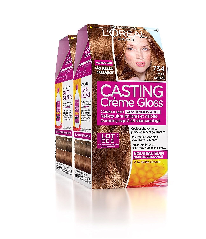 Coloration cheveux casting