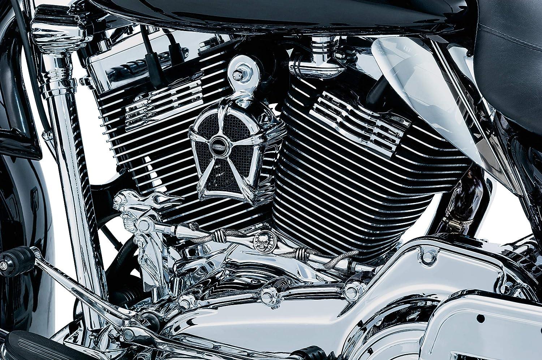 Kuryakyn 7260 Chrome Slotted Spark Plug Cover