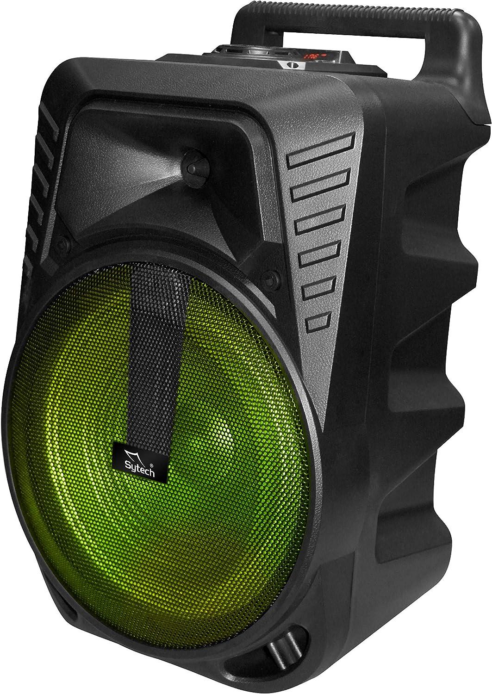 Sytech - SYXT38BT - Alta voz Bluetooth Inalambrico, Funcion TWS y Radio, 1 x 10