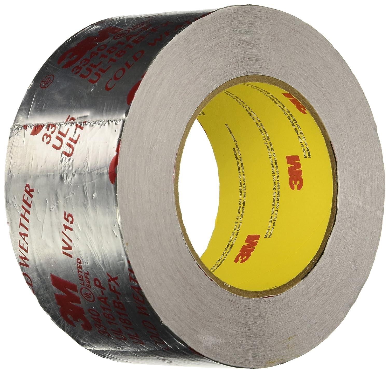 מוצרים לתעשייה 3m Silver Foil Tape 3340 2 1 2 Quot X 50 Yd
