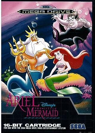 megadrive - [MD] Disney Ariel the Little Mermaid 91z-RMq2viL._SY445_