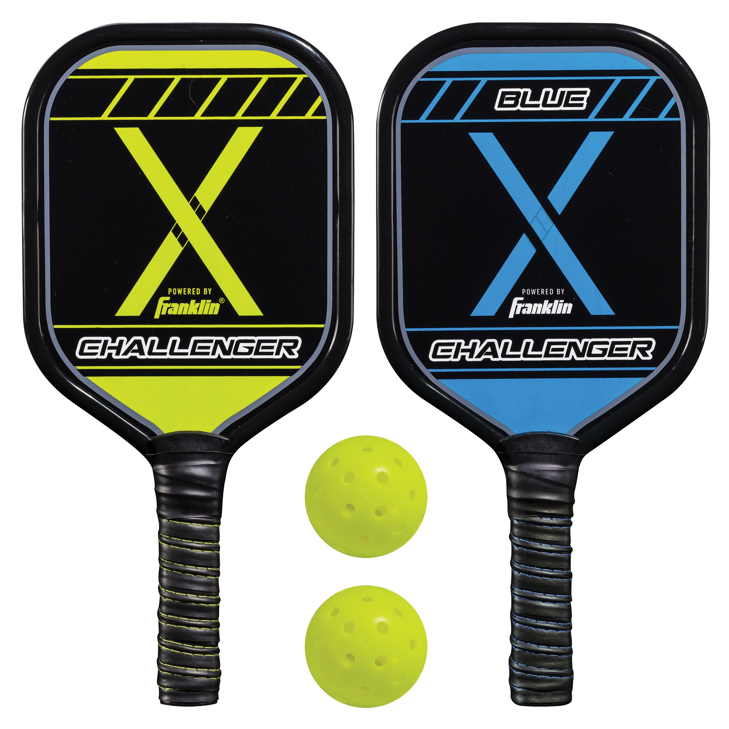 Franklin Sports Pickleball Performance (2) Player Aluminum Paddle & Ball Set - USAPA Approved by Franklin Sports