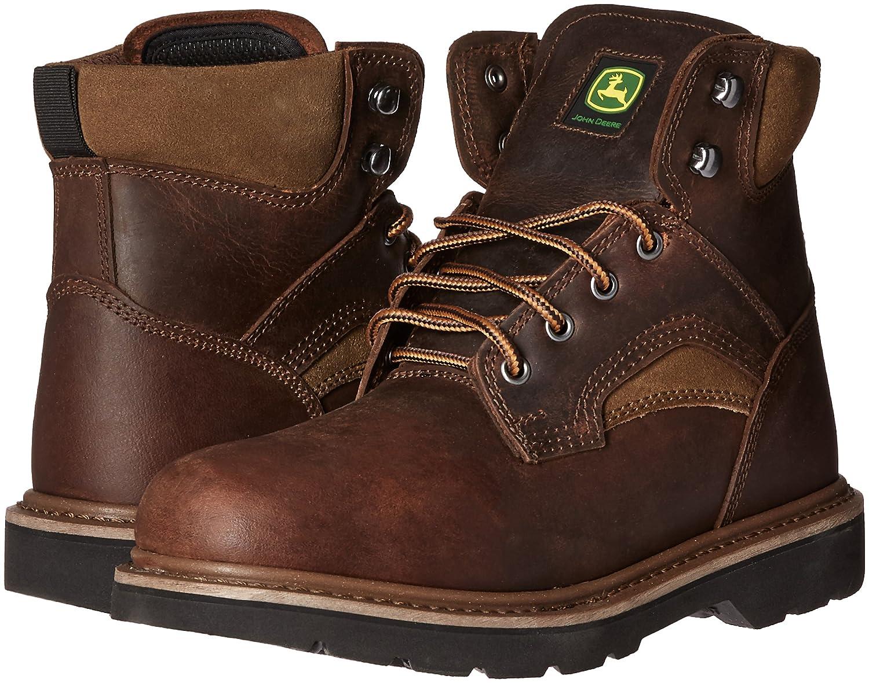 John Deere NST Lu - Bota de Trabajo para Hombre, 15,2 cm, Marrón (Marrón), 12 D(M) US: Amazon.es: Zapatos y complementos