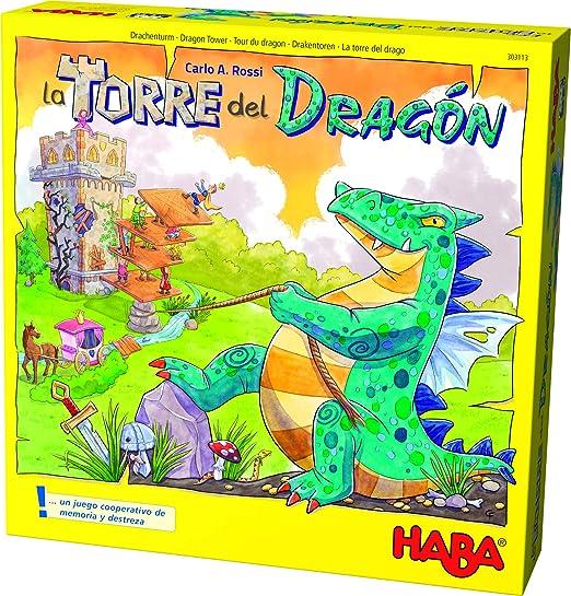 HABA-La Torre del dragón (303113): Amazon.es: Juguetes y juegos