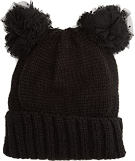 Womens Pom Novelty Beanie, Black, One Size (Manufacturer Size: One) Dorothy Perkins