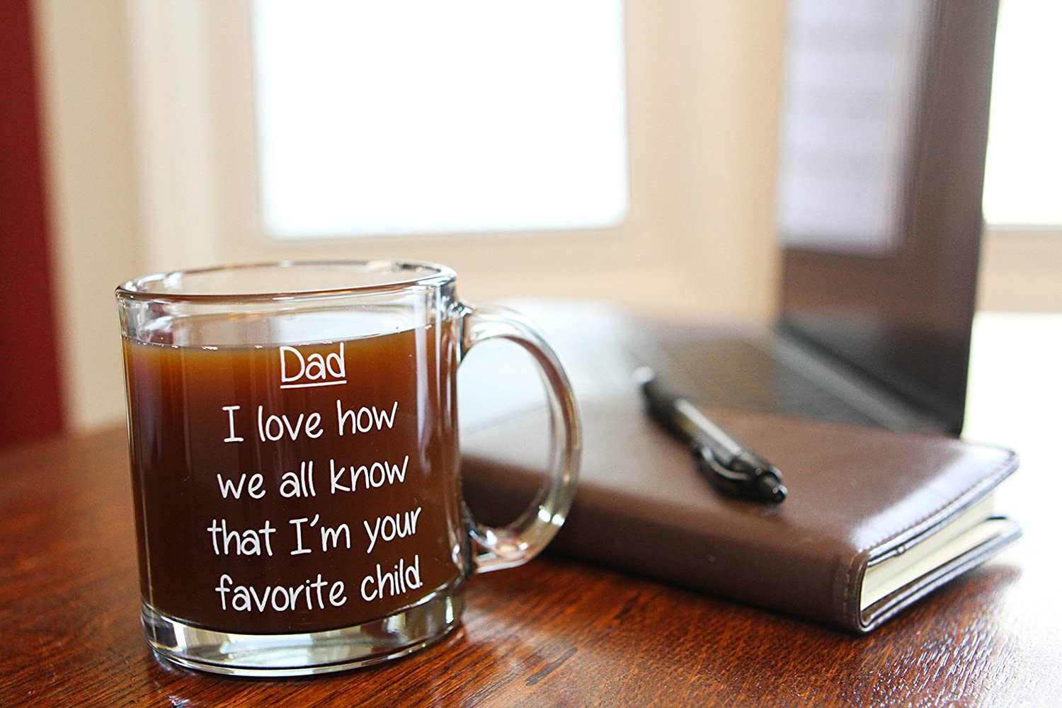 Best Dad Ever Mug Funny Novelty Gift Coffee Cup 13 Oz