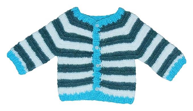 Sr Handicrafts Baby Boys Wool Sweater Sh010 2 3 Years Multi