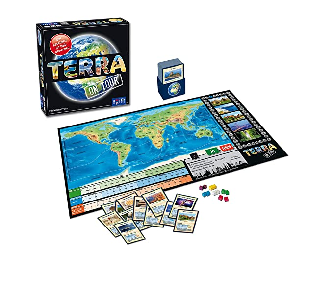 Huch & Friends 879356 - Terra on Tour, Quiz Parte: Amazon.es ...