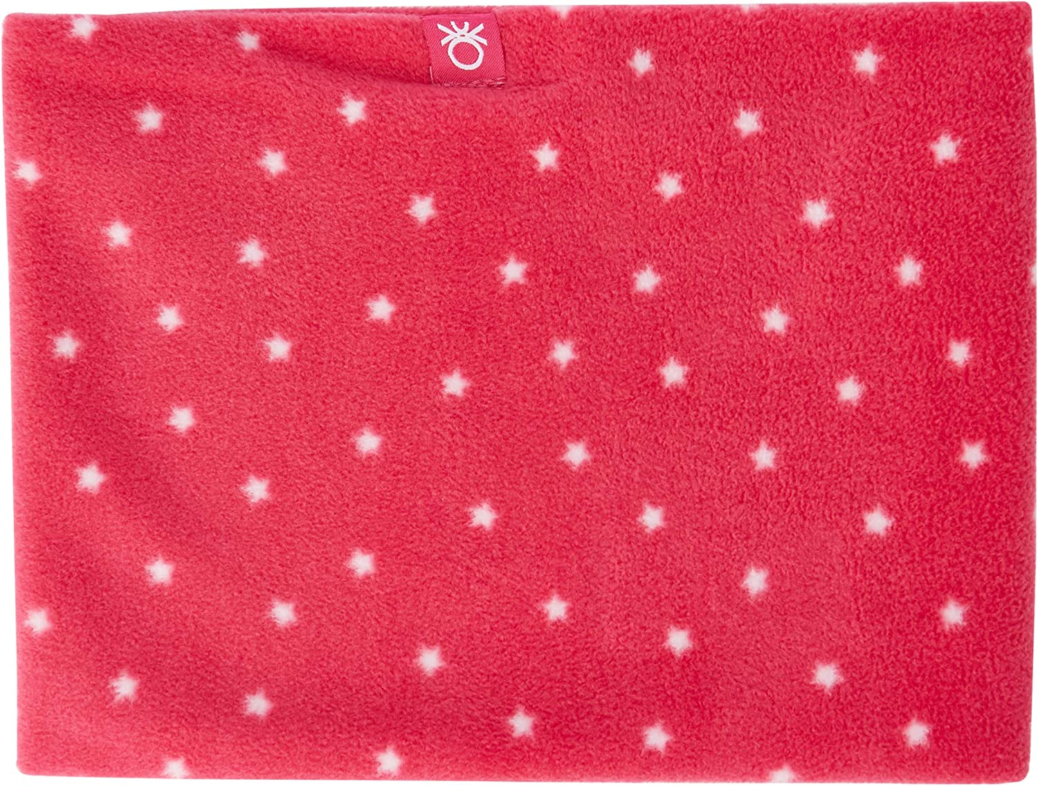 Pink Fuxia 906 United Colors of Benetton Jungen Collo Pile Stelle Schal Herstellergr/ö/ße: OS One Size