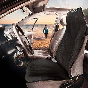 Porsche Cayman Car Front Seat Protectors Covers Water Resistant Pair Black