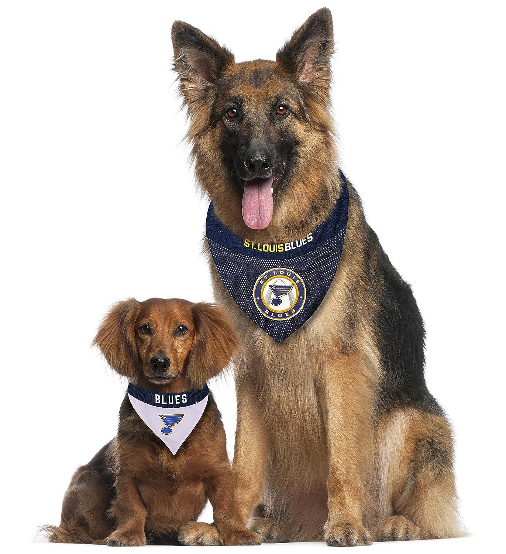 NEW ST LOUIS BLUES DOG CAT MESH JERSEY BANDANA 2 SIZES LICENSED