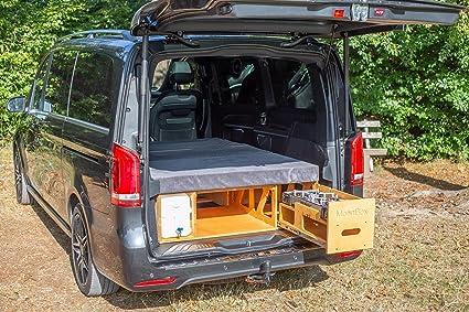 Camping Box Rear Kitchen Sleeping System For Vw Van Bus Type 119 Amazon De Automotive