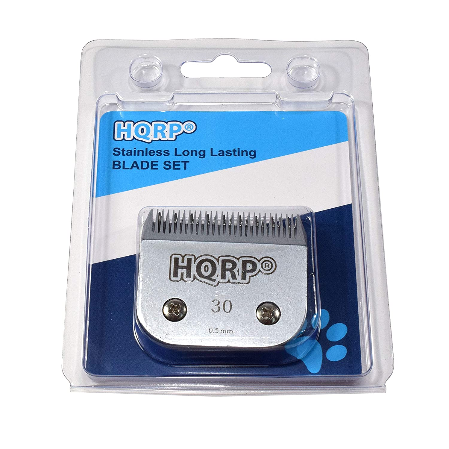 AGC2 22465 HQRP Size-30 Animal Clipper Blade for Andis AGC 22345 AGC2 22360 AGC 22350 HQRP Coaster AGC2 22445 AGC2 22440 AGC 22545 AGC2 23085 Pet Grooming AGC2 22405
