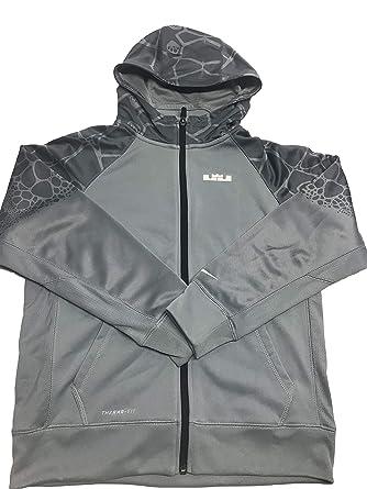86de4b9f9d20bf Amazon.com  Nike  LeBron Hero  Therma-FIT Fleece Raglan Full Zip ...