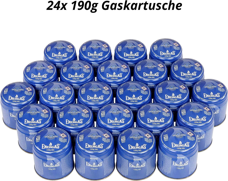 4x Gas Kartusche Stechkartusche á 190g Kocher NEU Gaskocher Campingkocher